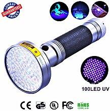 mit UV-Schwarzlicht-Taschenlampe, UV, 395nm