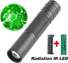 Mitlfuny 5W 850nm LED Infrarot IR Taschenlampe