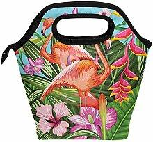 Mittagessen Tasche Exotischer Tropischer