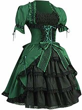 Mittelalterliches Kostüm Women Lange Ärmel