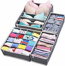 Miu Color Schubladen-Organisatoren, klappbare