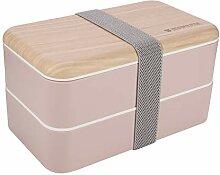 miuse Bento Box, Lunchbox Kinder, Brotdose Kinder