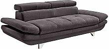 Mivano 3er-Sofa Enterprise / Dreisitzer-Couch mit