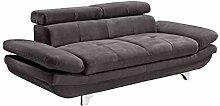 Mivano Zweisitzer-Sofa Enterprise / 2er-Couch mit