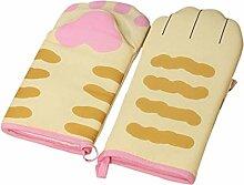 Miwaimao Cartoonkatze Isolierte Handschuhe