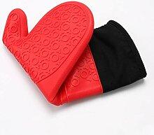 Miwaimao Teilige Silikon Topflappen-Handschuhe In
