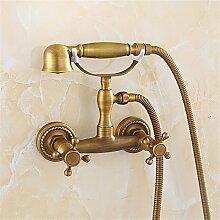 MIWANG Alle Bronze Antik Dusche, Dusche, Telefon,