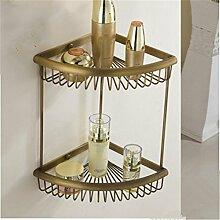 MIWANG Alle Bronze im Europäischen Stil Antik Gold Regal, Regal, Regal, E