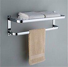 MIWANG Alle Kupfer Bad Handtuchhalter, Handtuchhalter, Badezimmer Regal, Edelstahl Bad Handtuchhalter, Anhänger