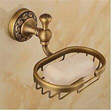 MIWANG Alle Kupfer Europäischen antike Seife, Seife Net, Retro Badezimmer, Badezimmer Regal, Anhänger