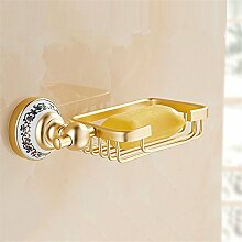 MIWANG Champagner, goldenen Badewanne, Seife Net, Badezimmer, Badezimmer Regal, Seife Net Seifenschale, C