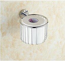 MIWANG Die antike Kupfer Warenkorb Warenkorb, Handtuchhalter, Kosmetik Restroom Regal Toilettenpapierhalter, E