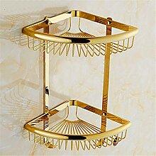 MIWANG Im europäischen Stil alle Kupfer antik Badetuch, Crystal Jade, Rose Gold, Gold Regal, Anhänger, Goldenes Dreieck Regal