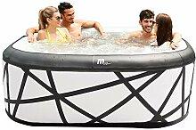 Miweba Premium MSpa Aufblasbarer Whirlpool Outdoor