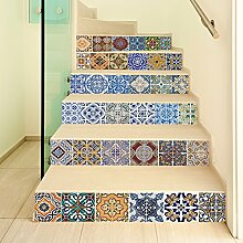 MIWEN Kreative Selbstklebende treppe Aufkleber