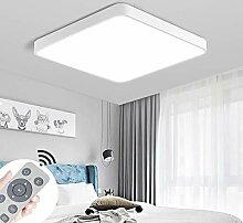 MIWOOHO 60W LED Deckenlampe Dimmbar Deckenleuchte