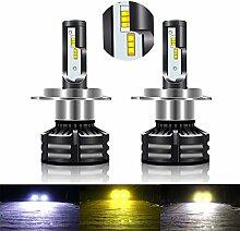 Mixbeek Auto Lampe Tricolor Scheinwerfer,