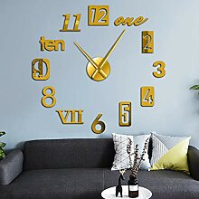 Mixed Number Styles Ziffern Moderne Wanduhr Acryl