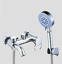Mixer Wasserhahn Badewanne mit Duschkopf Duschkopf
