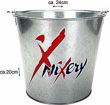 Mixery Flaschenkühler Bierkühler Eimer Eiseimer