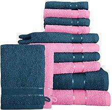 Mixibaby 12 TLG. Handtuchset Duschtuch Handtuch