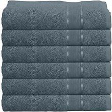 Mixibaby 6er Handtuchset Handtuch Handtücher 50cm