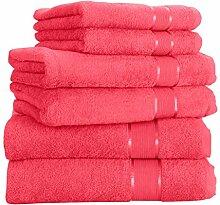 Mixibaby Handtuch 6er Set 2X Duschtuch 2X Handtuch