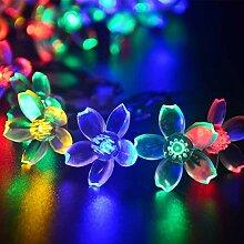 Mixtooltoys Solar-Blumen-Lichterkette,