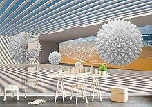 MIYCOLOR Benutzerdefinierte 3D-Wandbild Tapete