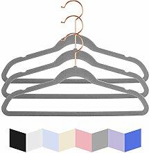 MIZGI Hochwertige Samt-Kleiderbügel für Kinder,