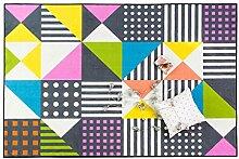 Mjb Dreieck-Teppich, für Wohnzimmer,