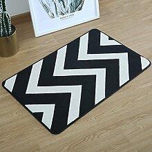 Mjb Moderner rechteckiger Teppich für