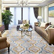 Mjb Moderner Teppich, gestreift, für Wohnzimmer,