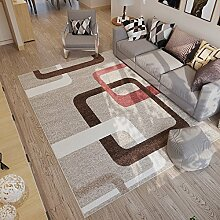 Mjb Nordischer rechteckiger Teppich für Zuhause,