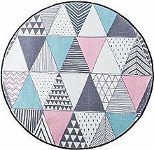 Mjb Teppich, dreieckig, kreisförmig, für