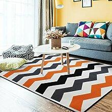 Mjb Teppich für Wohnzimmer, Kamin, Sofa,