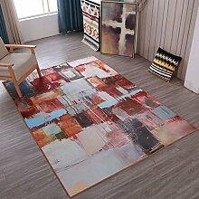 Mjb Teppich, Retro-Stil, für Wohnzimmer,