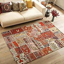 Mjb Teppich, Vintage-Stil, verdickt, quadratisch,