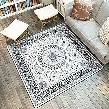 Mjb Viereckiger Kleiner Villus Teppich, einfach