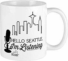 MJDIY Becher,Frasier Hallo Seattle Kaffee-Haferl -