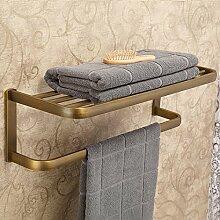 MJG Europäischen Kupfer Antik Handtuchhalter,