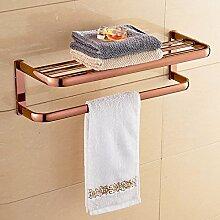 MJG Handtuch-Regal, Handtuchhalter,