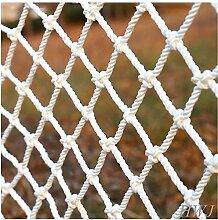 MJHETCY Weiße Schutznetz-Sicherheitsnetze,