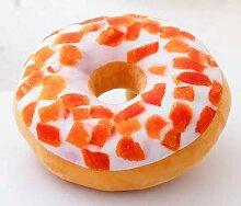Mjia pillow Plüschkissen,Donut KissenBüro