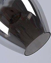 MJK Pendelleuchten, postmoderne Loft Glas