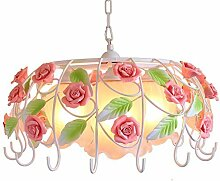 MJK Pendelleuchten, Rose Flower Kronleuchter,