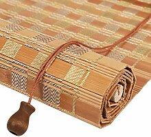 MJK Startseite Beschattungsrollo Bambusvorhang,