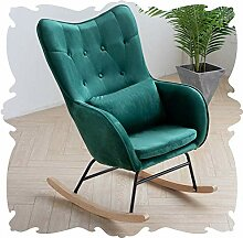 MJK Stühle, Garten Entspannen Schaukelstuhl