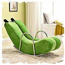 MJK Stühle, Garten im Freien Relax Schaukelstuhl