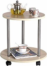 MJK Tisch, Zuhause Wohnzimmer Kleiner runder Tisch